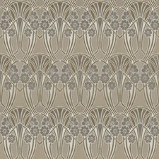 Lilac Pearl Floral Decorator Fabric by S. Harris
