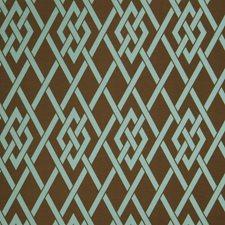 Teal Lattice Decorator Fabric by Fabricut