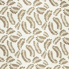 Mocha Leaves Decorator Fabric by Fabricut