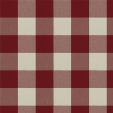 Ruby Check Decorator Fabric by Fabricut