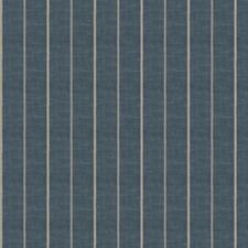 Indigo Stripes Decorator Fabric by Fabricut