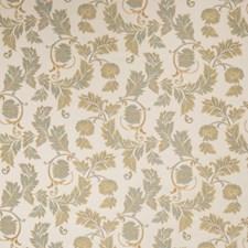 Azure Jacquard Pattern Decorator Fabric by Fabricut