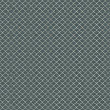 Azure Small Scale Woven Decorator Fabric by Vervain