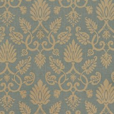 Lagoon Print Pattern Decorator Fabric by Vervain