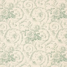 Mist Floral Decorator Fabric by Vervain