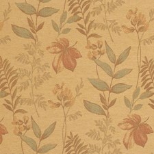 Cashew Leaves Decorator Fabric by Vervain