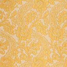 Limoncello Floral Decorator Fabric by Vervain