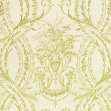 Keylime Floral Decorator Fabric by Vervain
