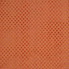 Terra Cotta Embroidery Decorator Fabric by Vervain