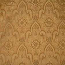 Caramel Damask Decorator Fabric by Vervain