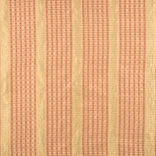 Coral Stripes Decorator Fabric by Vervain
