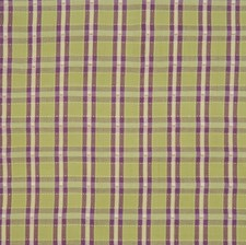 Lavender Small Scale Woven Decorator Fabric by Vervain