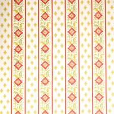 Candyapple Leaves Decorator Fabric by Vervain
