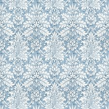 Periwinkle Print Pattern Decorator Fabric by Vervain