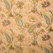 Teastain Floral Decorator Fabric by Vervain
