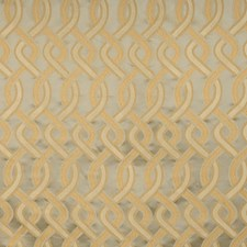 Aquaglace Geometric Decorator Fabric by Vervain