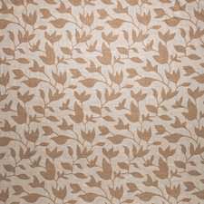 Camel Leaves Decorator Fabric by Vervain