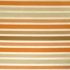 Copper Stripes Decorator Fabric by Vervain