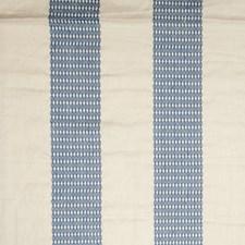 Blue Coast Embroidery Decorator Fabric by Stroheim