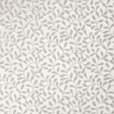 Harbor Grey Leaves Decorator Fabric by Stroheim
