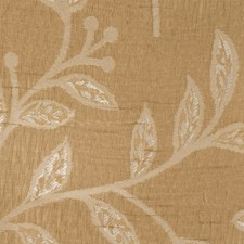 Mocha Leaves Decorator Fabric by Trend