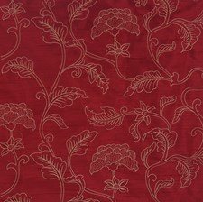 Wine Embroidery Decorator Fabric by Trend