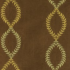 Woodland Embroidery Decorator Fabric by Trend
