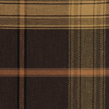 Coffee Bean Check Decorator Fabric by Trend