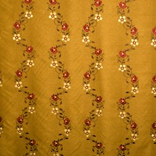 Caramel Embroidery Decorator Fabric by Trend