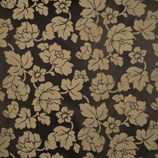 Jet Floral Decorator Fabric by Trend