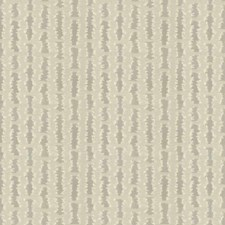 White Feather Stripes Decorator Fabric by S. Harris