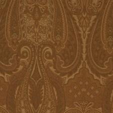 Nutmeg Botanical Foliage Decorator Fabric by RM Coco