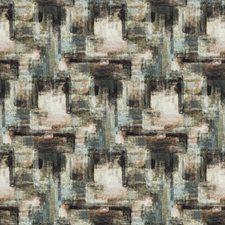 Sangria Rose Geometric Decorator Fabric by S. Harris