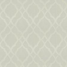 Ivory Lattice Decorator Fabric by Trend