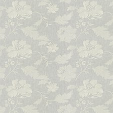 Snow Embroidery Decorator Fabric by Trend