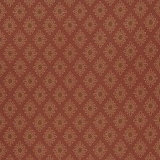 Rural Red Small Scale Woven Decorator Fabric by Fabricut