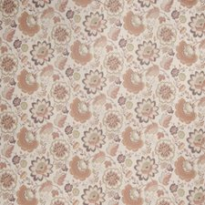 Plum Melon Floral Decorator Fabric by Fabricut