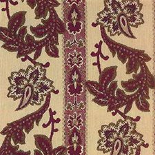 Burgundy/Red Botanical Decorator Fabric by Kravet