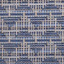 Chambray Flame Stitch Decorator Fabric by Duralee