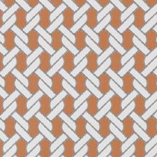 Papaya Nautical Decorator Fabric by Duralee