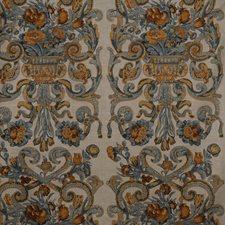 Multi Blue/Oakwood Decorator Fabric by Scalamandre