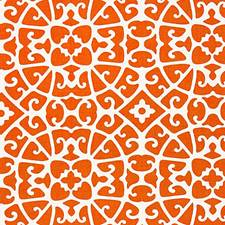 Persimmon Decorator Fabric by Scalamandre