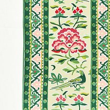 Spring Green Decorator Fabric by Scalamandre