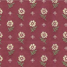 Burgundy/Red/Pink Botanical Decorator Fabric by Kravet