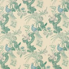 Cream Decorator Fabric by Schumacher