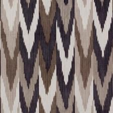 Carbon/Teak Decorator Fabric by Schumacher