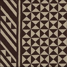 Brown On Natural Decorator Fabric by Schumacher