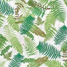 Green/Ivory Decorator Fabric by Schumacher