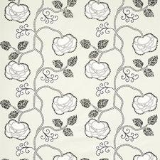 Ebony Ivory Decorator Fabric by Schumacher