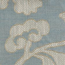 Blue Ice Decorator Fabric by Highland Court